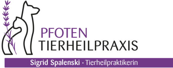 Pfoten Tierheilpraxis Logo